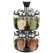 Buy John Lewis 12 Jar Rotating Spice Rack Online at johnlewis.com
