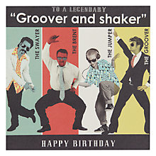 Buy Hotch Potch Groove Shake Birthday Card Online at johnlewis.com