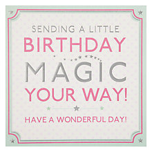 Buy Hotch Potch Birthday Magic Birthday Card Online at johnlewis.com