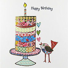 Buy Portfolio Celebration Bird Birthday Card Online at johnlewis.com
