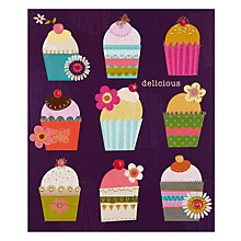 Buy Paperhouse Cupcakes Birthday Card Online at johnlewis.com
