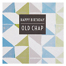 Buy Black Olive Woodblock Birthday Card Online at johnlewis.com