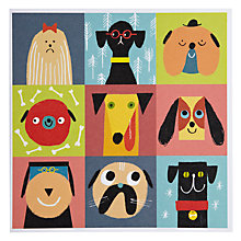 Buy Urban Graphic Pooch Parade Greeting Card Online at johnlewis.com