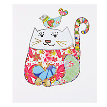 Buy Portfolio Puss And Friend Greeting Card Online at johnlewis.com