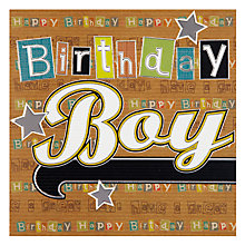 Buy Laura Darrington Birthday Boy Birthday Card Online at johnlewis.com