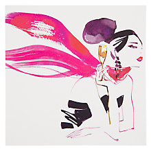 Buy Woodmansterne Party Girl Greeting Card Online at johnlewis.com