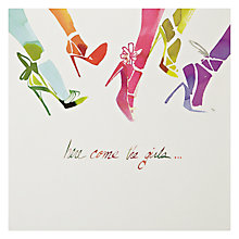 Buy Woodmansterne Colourful Legs Greeting Card Online at johnlewis.com