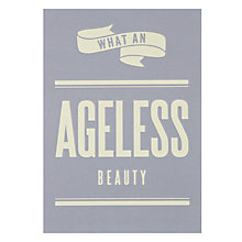 Buy Art File An Ageless Beauty Birthday Card Online at johnlewis.com
