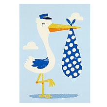 Buy Loveday Designs Pitter Patter New Baby Card Online at johnlewis.com