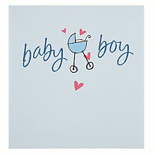 Buy Hotch Potch Baby Boy New Baby Card Online at johnlewis.com