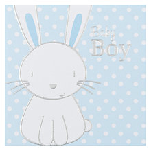 Buy Paperlink Baby Boy New Baby Card Online at johnlewis.com