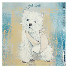 Buy Art Beat Scottie Get Well Card Online at johnlewis.com