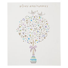 Buy Woodmansterne Silver Tree Greeting Card Online at johnlewis.com