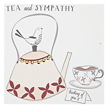 Buy Belly Button Designs Tea And Sympathy Card Online at johnlewis.com