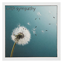 Buy Icon Dandelion Sympathy Card Online at johnlewis.com
