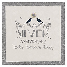 Buy Five Dollar Shake Silver Anniversary Card Online at johnlewis.com