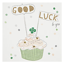 Buy Belly Button Designs Good Luck Card Online at johnlewis.com