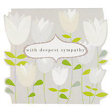Buy Caroline Gardner Sympathy Card Online at johnlewis.com