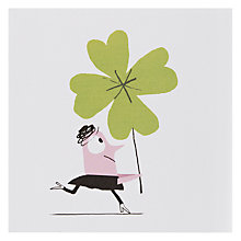 Buy Urban Graphic Lucky Good Luck Card Online at johnlewis.com