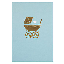Buy Lagom Designs Baby Boy New Baby Card Online at johnlewis.com