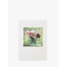 Buy Woodmansterne Flowers in Hanging Basket Thank You Card Online at johnlewis.com