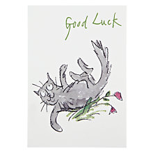 Buy Woodmansterne Rolling In Flowers Thinking of You Card Online at johnlewis.com