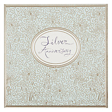 Buy Woomansterne Silver Tree Anniversary Card Online at johnlewis.com