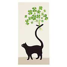Buy Woodmansterne Cat Greeting Card Online at johnlewis.com