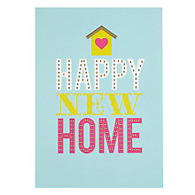 Buy Pigment Happy New Home Card Online at johnlewis.com
