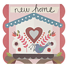 Buy Pigment Little Birds House New Home Card Online at johnlewis.com