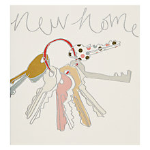 Buy Pigment Keys New Home Card Online at johnlewis.com