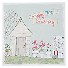 Buy Saffron 60th Birthday Card Online at johnlewis.com