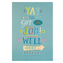 Buy Paperhouse Well Done New Job Card Online at johnlewis.com