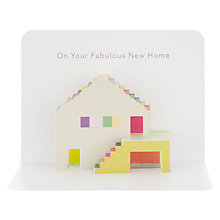 Buy Art File New Home Card Online at johnlewis.com