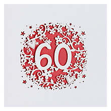 Buy Paperlink 60th Birthday Card Online at johnlewis.com