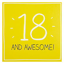 Buy Pigment 18 And Awesome Birthday Card Online at johnlewis.com