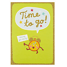 Buy Hotch Potch Time To Go Leaving Card Online at johnlewis.com
