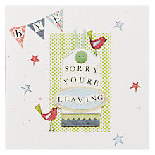 Buy Mint Sorry You're Leaving Card Online at johnlewis.com