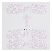 Buy Valerie Valerie Baby Rococo Christening Card Online at johnlewis.com
