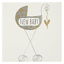 Buy Belly Button Designs New Baby Card Online at johnlewis.com