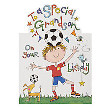 Buy Rachel Ellen Special Grandson Birthday Card Online at johnlewis.com
