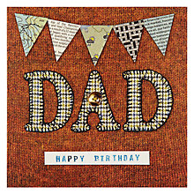 Buy Art Beat Dad Birthday Card Online at johnlewis.com