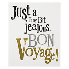 Buy Really Good Bon Voyage Card Online at johnlewis.com