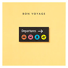Buy Loveday Designs Bon Voyage Card Online at johnlewis.com