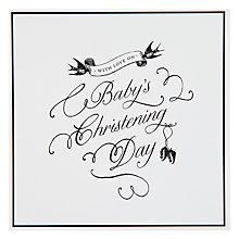 Buy Pigment Baby Christening Card Online at johnlewis.com