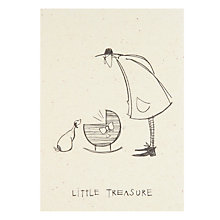 Buy Art Press Little Treasure New Baby Card Online at johnlewis.com
