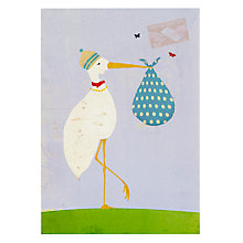 Buy Lagom Designs New Arrival New Baby Card Online at johnlewis.com