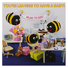 Buy Mint Mum To Bee Leaving Card Online at johnlewis.com