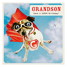 Buy Paperlink Grandson Greeting Card Online at johnlewis.com