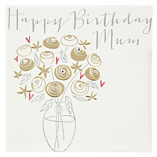 Buy Belly Button Designs Mum Happy Birthday Card Online at johnlewis.com